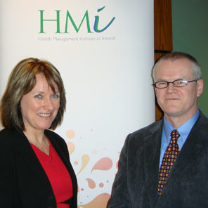 Breda Crehan-Roche, CEO, Ability West with Finbarr Colfer, HIQA