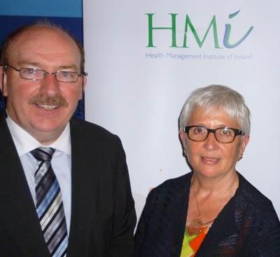 Gerry O'Dwyer and Dr. Susan O'Reilly