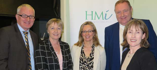 Mr Liam Duffy, CEO, Beaumont Hospital, Ms Joan Regan, Department of Health, Ms Fionnula Duffy, Department of Health, Mr Derek Greene, HMI President and Ms Anne-Marie O'Grady, HMI Council