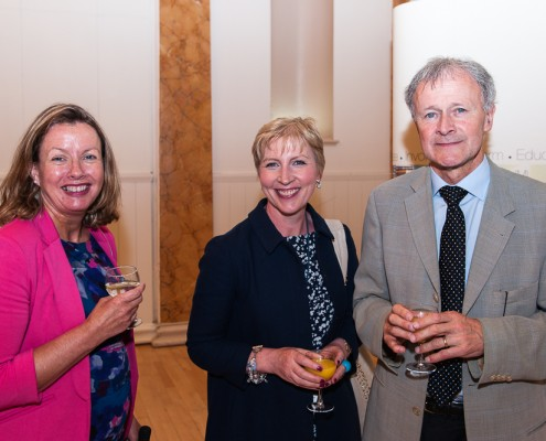 Anne Slattery, Eleanor Moore, Garry Courtney