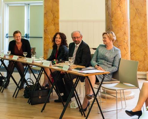 Dr. Eva Lindgren, Suzanne Dempsey, Ian Maguire, Eileen Dunne