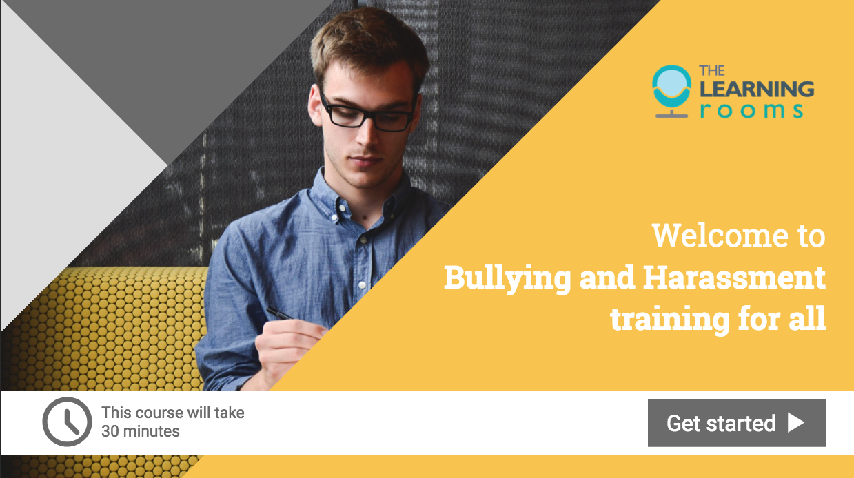 Bullying and harassment online Training for All course